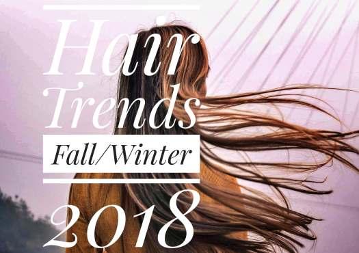 hair trends fall winter 18